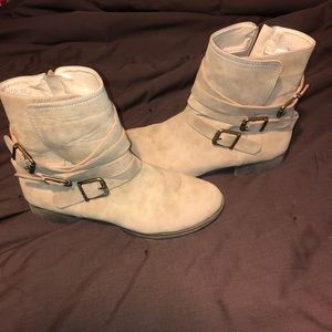 Just fab camel colored boots